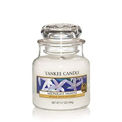 Yankee Candle Small Midnight Jasmine Jar Candle 1129553 from Yankee Candle