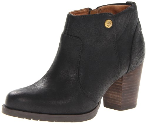 indigo by Clarks Women's Mission Philby Boot,Black,7.5 M US