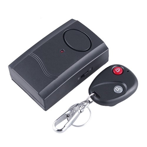 Wireless Remote Control Vibration Alarm for Door Window Items Security.