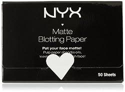 NYX Matte Blotting Paper White 50 Count