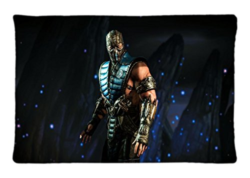 100-brand-new-mortal-kombat-x-sub-zero-klassic-tower-personality-20-x-30-inches-zippered-pillow-case