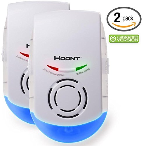 hoont-2-pack-indoor-powerful-plug-in-pest-repeller-night-light-eradicates-insects-and-rodents-upgrad