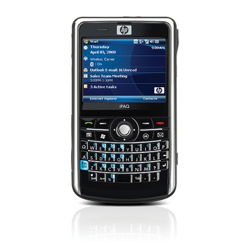 HP iPAQ 910 Business Messenger Unlocked Cell Phone with US 3G, 3 MP Camera, Media Player, MicroSD Slot - U.S. Version with Warranty
