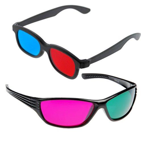 GTMax 3D Red/Cyan Glass + 3D MAGENTA/GREEN Glass