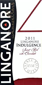 2011 Linganore Indulgence Sweet Red with Chocolate Dessert Wine 375 mL