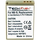 Canon PowerShot SX230 HS Digital Camera Replacement Battery - TechFuel Professional NB-5L Battery