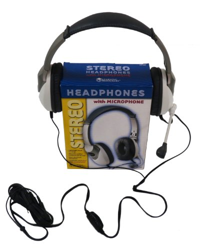 Stereo Headset With Microphone Set (Set Of 10)