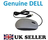DELL USB Grey Optical Scroll Mouse 1000dpi , Dell P/N: YR0N4 , Brand NEW