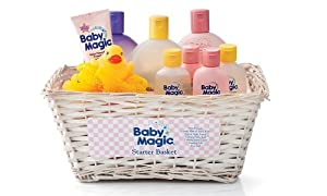 Baby Magic Starter Wicker Basket Set
