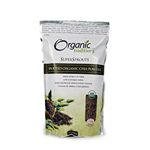 Amazon.com: Organic Traditions Chia Seed Powder, Raw, Organic - 1 ...