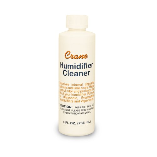 Crane HS-1933A Humidifier Cleaner/Descaler, 8 Fluid Ounce (Pack of 6)