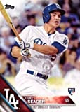 2016 Topps Baseball #85 Corey Seager Rookie Card - His 1st official Rookie Card!