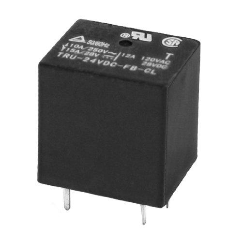 24Vdc Rating Coil 5Pin Pcb Breadboard Plug-In Mini Power Relay