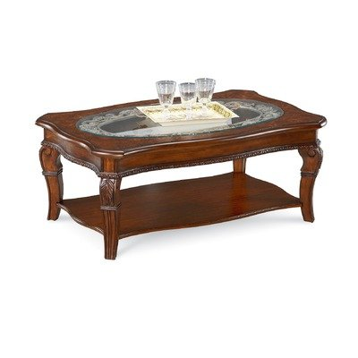 Buy Low Price Bryson Square Coffee Table W Metal Broyhill 4933 013 4933 013 Coffee Table