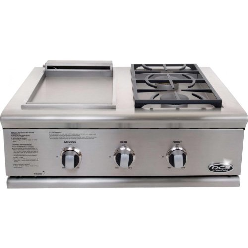 Dcs Bfg-30Bgd-L 70844 Liberty Griddle/Side Burner For Built-In Liquid Propane, Stainless Steel, 30-Inch