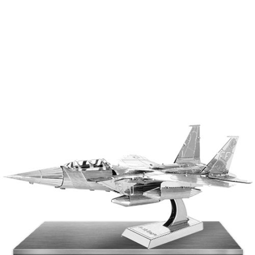 Fascinations Metal Earth 3D Laser Cut Model - F-15 Eagle Fighter Jet