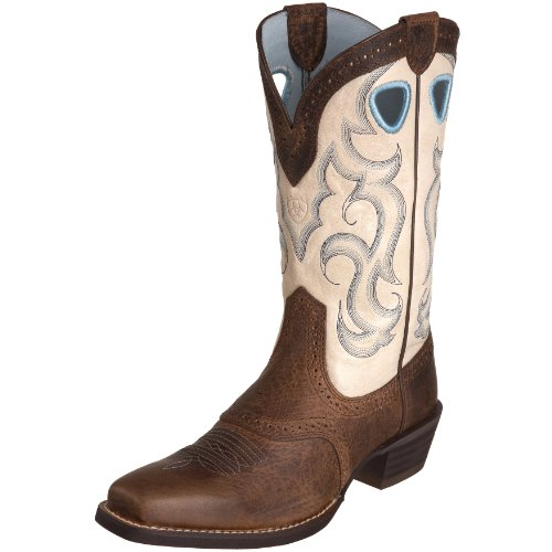 Ariat Women's Rawhide Boot,Earth/Cream,6.5 M US