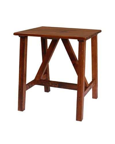 2 Day Designs Pine Creek End Table, Pine As You See