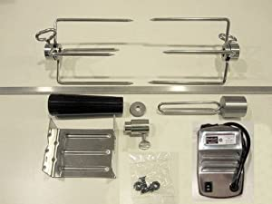 Onegrill Weber Fit Stainless Rotisserie Kit