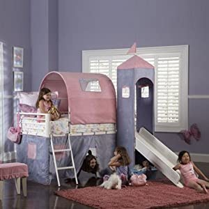 Princess Castle Bed by Powell Furniture