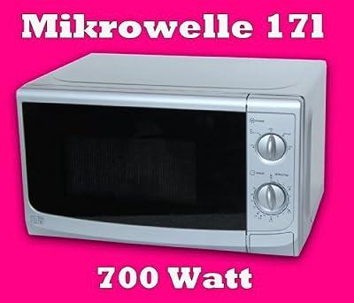 Mikrowelle 17l 700 Watt Silber Sku4155 Top von Sainsbury´s