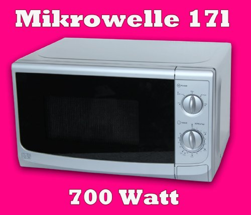 citra sonya mikrowelle 17l 700 watt silber sku4155 top. Black Bedroom Furniture Sets. Home Design Ideas