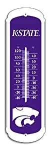 Buy NCAA Kansas State Wildcats Outdoor Thermometer, 12-Inch by BSI