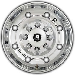 "Alcoa 17.5x6.75"" Hub-Piloted Aluminum Trailer Wheel (5/8"" Studs)"