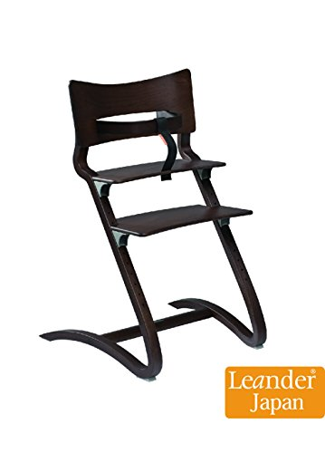 [Leander正規日本総代理店] リエンダー ハイチェアー(ベビーガード附属)5色 (ウォールナット) 正規輸入品3年保証