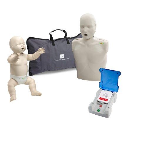 Beginner Instructor Package - Prestan Manikins (LS) w/ Monitor - Prestan Pro AED Trainer (Preston Manikin compare prices)