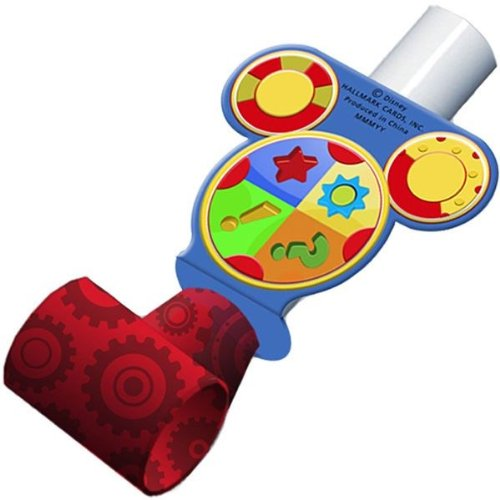 Mickey Mouse 'Playtime' Blowouts / Favors (8ct)