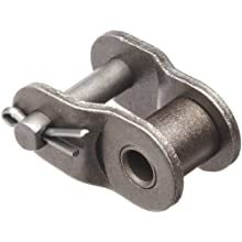 HKK Single Strand Roller Offset Link, Cottered, Carbon Steel