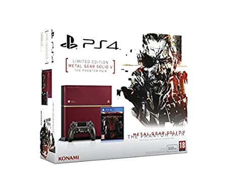 PlayStation 4 - Consola 500 GB (Edición Limitada) + Metal Gear Solid V: Phantom Pain
