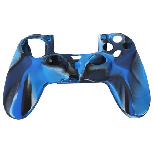 Silicone Rubber Case Skin Cover Grip For Ps4 Playstation 4 Controller Mod