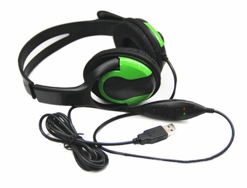 Retractable Disposable Usb Computer Gaming Headset Microphone Earphone And Headphone With Mic For Ps3