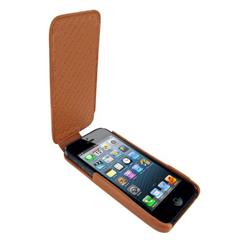 Great Price Apple iPhone 5 / 5S Piel Frama iMagnum Tan Leather Cover