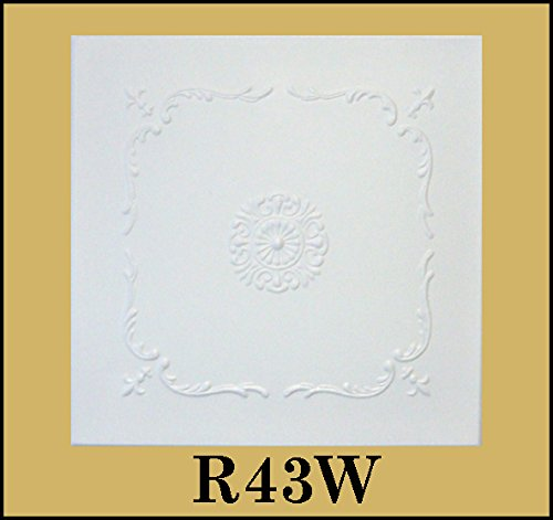 tin-look-glue-up-ceiling-tiles-20x20-styrofoam-extruded-polystyrene-r43w-lot-of-8
