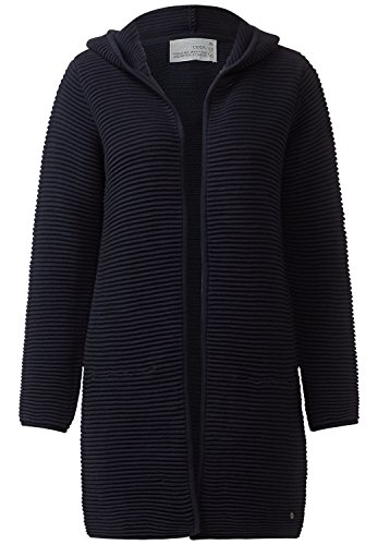 CECIL Strickjacke mit Hoody Lana Damen deep blue XL thumbnail