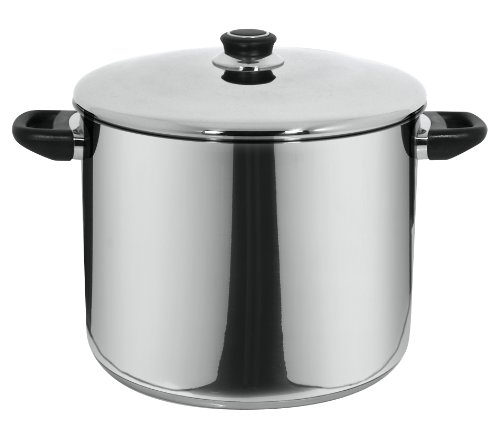 Magefesa 01Pxroyol30 Royal Stainless Steel Stockpot With Lid, 17.2-Quart