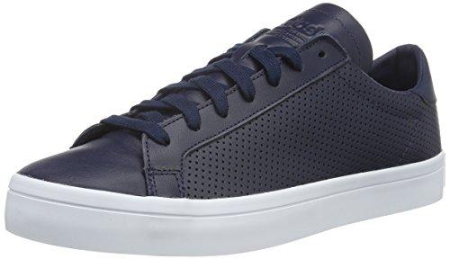 adidas Court Vantage, Scarpe da Ginnastica Basse Uomo, Blu (Collegiate Navy/Collegiate Navy/Ftwr White), 40 EU