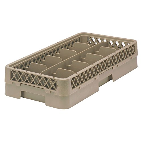 Vollrath HR1C1C Traex Half-Size 10 Compartment Cup Rack w/ 2 Extenders