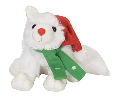 Wild Republic Christmas Arctic Fox 12 Plush