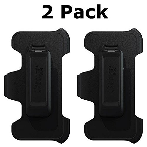 OtterBox Defender Series Holster Belt Clip for Apple iPhone 5 / 5s / 5c - Black - Bulk Packaging (2 Pack) (Otterbox Iphone 5 Belt Clip compare prices)