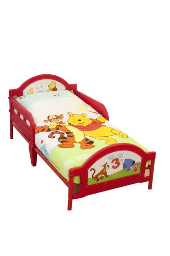 Character World Disney Winnie the Pooh Numbers Toddler Bed