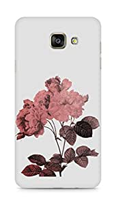 Amez designer printed 3d premium high quality back case cover for Samsung Galaxy A7 (2016 EDITION) (Rose)