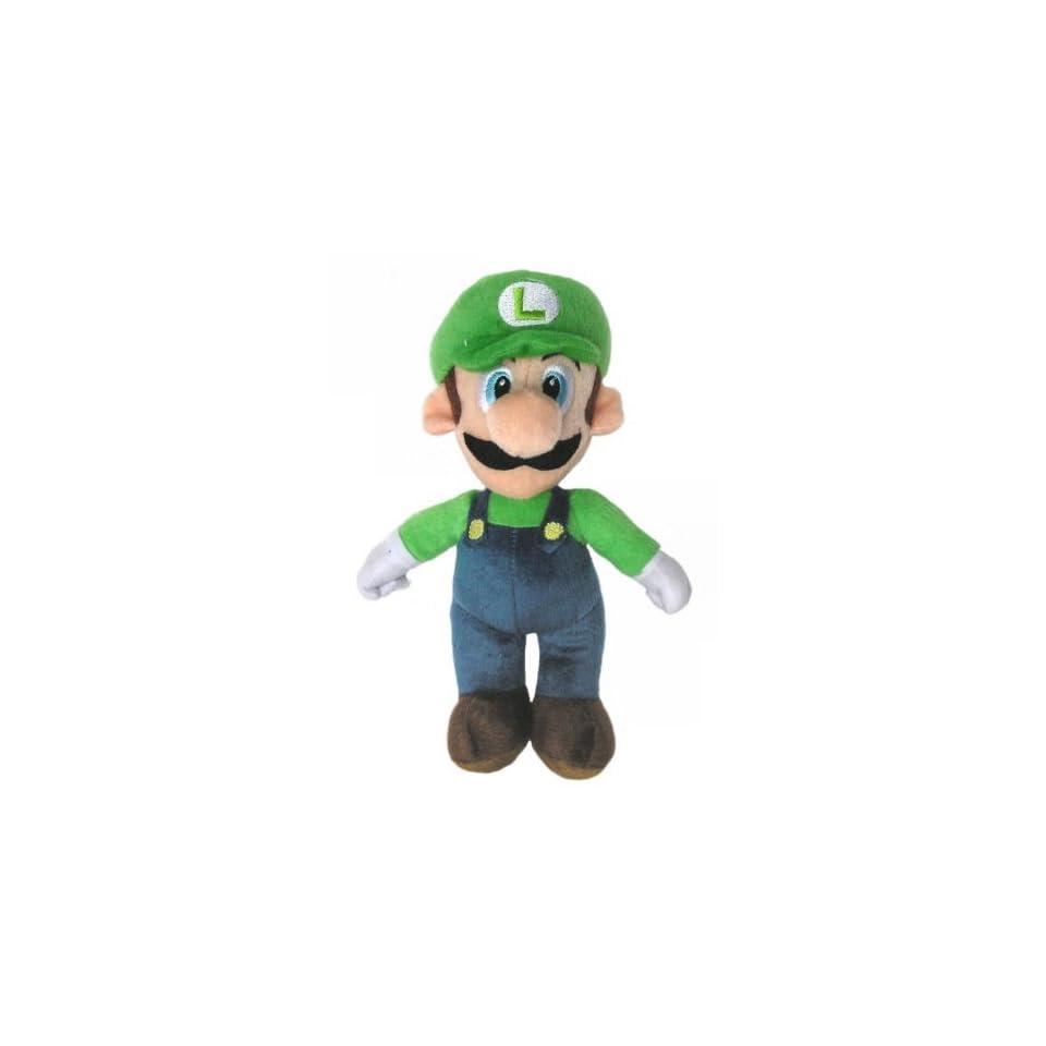 Super Mario Luigi Plüsch 34cm Plüschfigur Nintendo