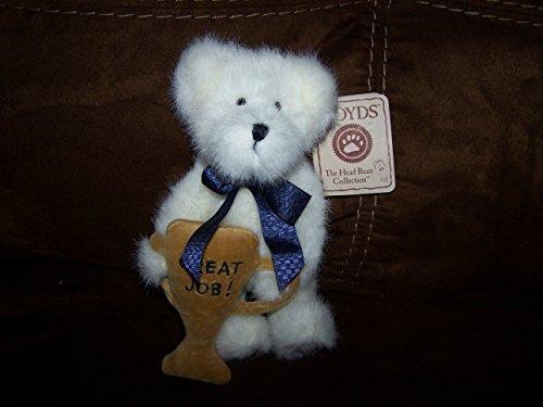 """Boyd's Bear Barry Bestbear - Holding """"Great Job"""" Trophy - 1"""
