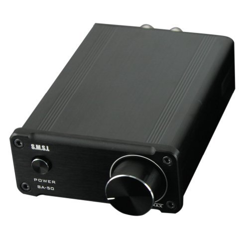 Smsl Sa-50 Stereo Amplifier, 2 X 50W Output With Best Hi-Fi Sound Quality