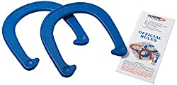 St Pierre Sports Royal Horseshoe (1-Pair), Red/Blue