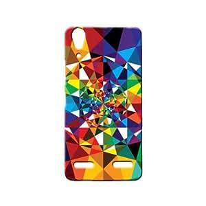 BLUEDIO Designer 3D Printed Back case cover for Lenovo A6000 / A6000 Plus - G5168